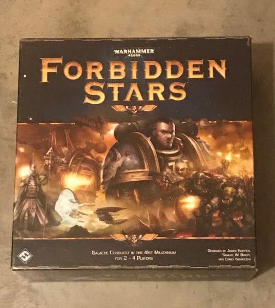 Forbidden Stars game box