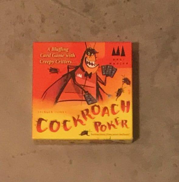 Cockroach Poker game box