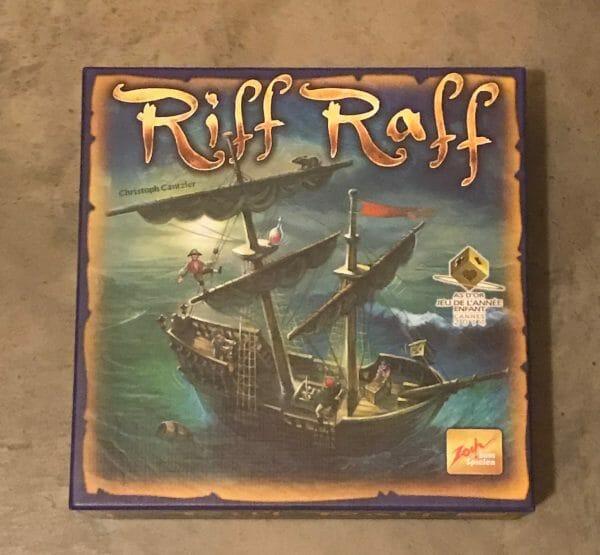 Riff Raff game box