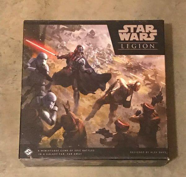 Star Wars Legion game box