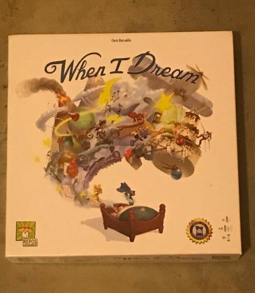 When I Dream game box