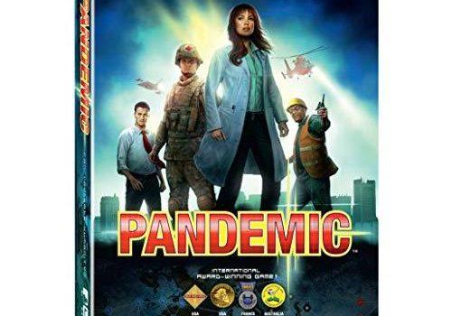 Pandemic board game boxed set.